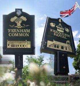 Farnhams MIllennium Signs